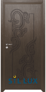 Интериорна врата Sil Lux 3006P Златен кестен