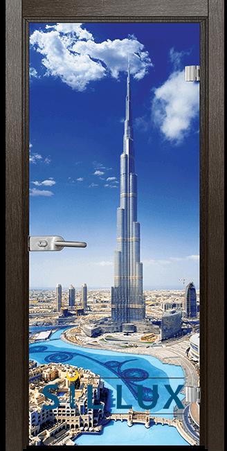 Стъклена интериорна врата Print G 13 16 K