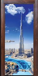 Стъклена интериорна врата Print G 13 16 Q