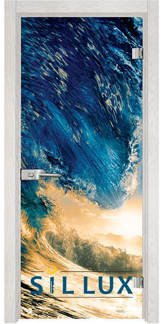 Стъклена интериорна врата Print G 13 19 F