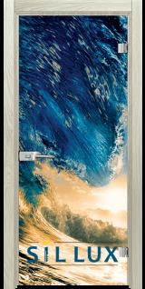 Стъклена интериорна врата Print G 13 19 I